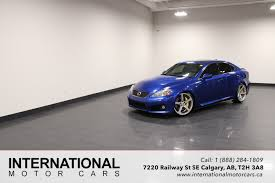 lexus is upgrades used 2008 lexus is f for sale calgary ab