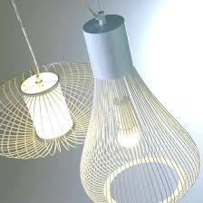 plafonnier de cuisine plafonnier maison du monde suspension en rotin d70cm lustre