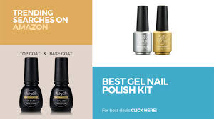 best gel nail polish kit trending searches on amazon youtube