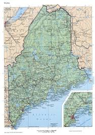 Road Map Of Usa by Maine Mapfree Maps Of Us