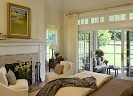 astonishing window treatments for french doors to a patio