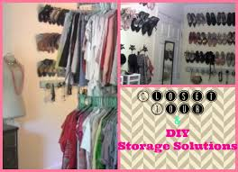 closet tour and creative storage solutions and clothes rack youtube