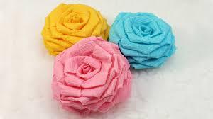 crepe paper flowers diy paper flowers tutorial diy crepe paper roses