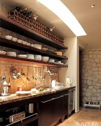 kitchen cabinets with wine rack detrit us