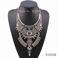 colored crystal necklace pendants images New arrival latest design 2017 fashion silver color crystal jpg