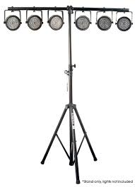 light stand on stage ls7720qik 10 foot light stand with 2 bars pssl