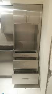 Kitchen Oven Cabinets Stainless Steel Or Plywood Interior Kitchen Cabinets Steelkitchen