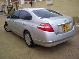 teana nissan 2015 nairobimail nissan teana new shape 2009 f loaded 2500cc v6 silver