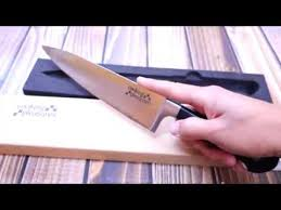 professional grade kitchen knives cooking pleasures professional grade chef knife review