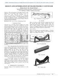 idler design finite element method bearing mechanical