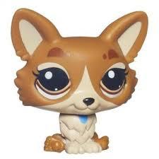amazon com littlest pet shop corgi pet dog 3567 toys u0026 games