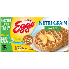 Eggo Toaster Waffles Kellogg U0027s Eggo Nutri Grain Low Fat Waffles From Jewel Osco Instacart