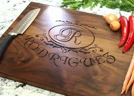 personalized wedding cutting board personalized wedding party favors and gifts custom engraved wooden