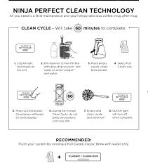 clean light on ninja coffee bar how to clean ninja coffee bar keep your coffee machine nice
