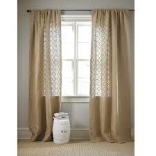 Burlap Drapery 135 Best Wallcovering Window Treatments Images On Pinterest