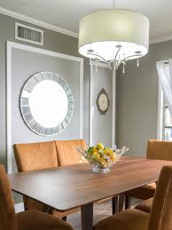 photos hgtv transitional taupe dining room with crown and wall