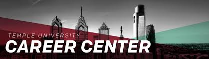 temple university career center own your future