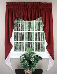 Victorian Swag Curtains 20 Best Jabot U0026 Swag Kitchen Curtains Images On Pinterest