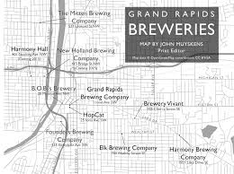 Beer Map Grand Rapids Brewery Map My Blog