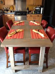 beautiful barn wood pub table with hand rubbed finish wes dalgo