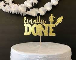 divorce cake toppers divorce cake topper etsy