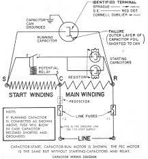 refrigerator start capacitor wiring diagram wiring diagram weick