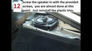 nissan altima coupe speaker sizes how to replace rear speakers in a nissan 240sx or 180sx hatchback