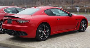 maserati gt 2015 file 2015 maserati granturismo mc rear right rosso jpg
