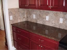 kitchen tile backsplash designs 4x4 noce travertine tile backsplash designs for kitchens