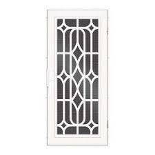 X  White Unique Home Designs Security Doors Exterior - Unique home designs security door