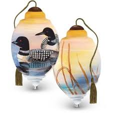 buy glass ornaments from bed bath beyond