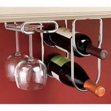 under counter wine rack the rack for glass and wood