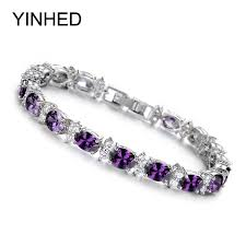 aliexpress buy new arrival hight quality white gold aliexpress buy yinhed new arrival white gold color tennis