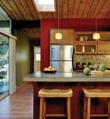 Feng Shui Kitchen by Feng Shui Kitchen With Red Walls And Wooden Ceiling Feng Shui