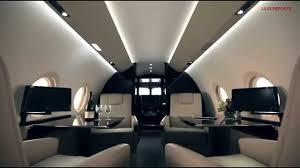 corporate jet gulfstream g280 interior view youtube