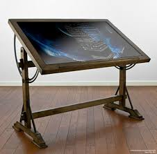 Drafting Table With Light Box Blueprint Table Images Reverse Search
