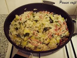 courgette boursin cuisine poêlée de riz et courgettes au boursin cuisine aux chignons