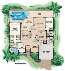 house plans mediterranean style homes hacienda center courtyard floor plans rear courtyard house plans