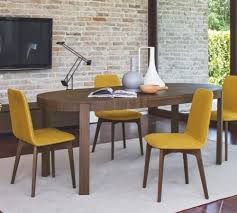 calligaris connubia atelier oval extending table design icons