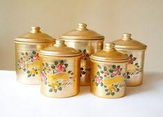 bronze kitchen canisters canister sets shell canister set handmade pottery four