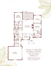 independent living floor plans deerfield retirement community