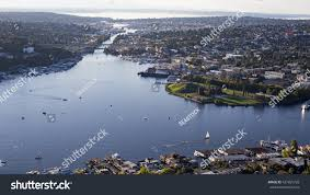 Ballards Beach Block Island Fremont Cut Lake Union Ballard Locks Stock Photo 427895728