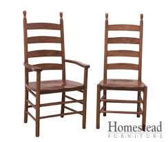 Ladder Back Dining Chairs Shaker Ladderback 202 Dining Chairs Homestead Furniture