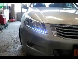 2014 honda accord led intothecar customized led drl honda accord 2way