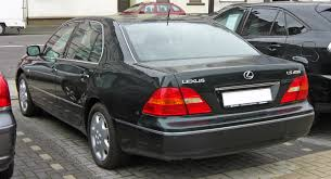 red lexus 2008 file lexus ls430 rear jpg wikimedia commons