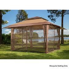 gazebo covers sunjoy s gz001 e mn fabric replacement mosquito