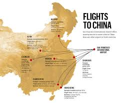 Map Of San Francisco Airport by United Airlines Wants To Connect Sfo With Hangzhou The
