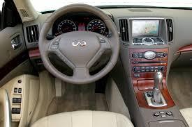 Infiniti G37 Convertible Interior G37 Convertible 3 7 V6 320 Hp Automatic