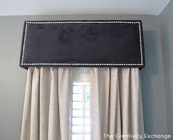 Window Box Curtains How To Diy A Pelmet Or Box Valance Might Need This Someday