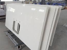 comptoir de cuisine quartz blanc poli fabricants de comptoirs de cuisine quartz blanc et de la chine